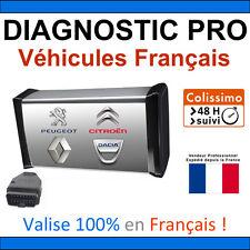 Valise de Diagnostic PRO Véhicules Français DIAGBOX CAN CLIP PP2000 LEXIA ELM