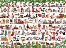Eurographics Christmas Kittens 1000 Piece Jigsaw EG60000940