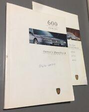 #25 ROVER 600 OWNERS MANUAL HANDBOOK FOLDER 618 620 623 Si Sli Gsi Di 1993-1999