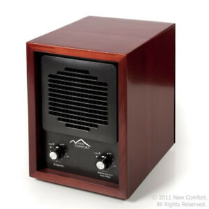 Cherry Finish Commercial Qualtiy New Comfort Ozone Generator and Ioniser for Odo