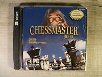 Chessmaster 9000 (PC, 2002) 2 CDROM in Jewel Case