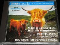 Mendelssohn - Scottish Symphony  - Beethoven Symphony 1 - CD Album - BBC Music