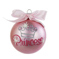 Pink Princess Glitter Ornament  By Kurt Adler