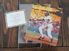 DON BAYLOR Autograph 8x10 Photo w COA BOSTON RED SOX Signed SIGNATURE