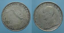 REPUBBLICA ITALIANA 500 LIRE 1974 MARCONI FDC