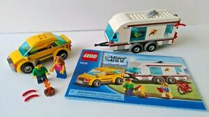 LEGO 4435 Car & Caravan + 20014 Creator 4x4 Dynamo& 5627 Mini Dozer books no box