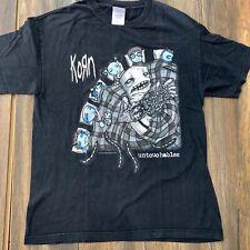 Vintage Korn Untouchables Band Tee Shirt Sz Large ROCK TOUR SHIRT