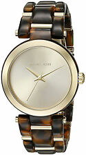 Michael Kors MK4314 Delray Tort Gold Dial Tortoise Acetate Women's Watch