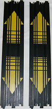 """15"""" Straight Track With Arrows Pair AFX Tomy Auto World Racemasters HO AFX70600A"""