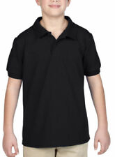 Gildan Patternless Polo T-Shirts & Tops (2-16 Years) for Boys