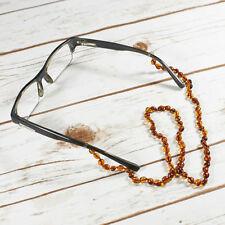 "Not Enhanced Amber 24 - 29.99"" Fine Necklaces & Pendants"