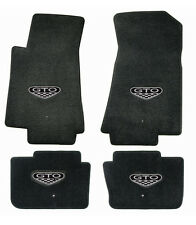 NEW! FLOOR MATS 2004 PONTIAC GTO CREST Embroidered Logo on all 4 mats set of 4