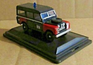 OXFORD DIECAST LAND ROVER SERIES II LWB 1:76 SCALE ROYAL NAVY BOMB DISPOSAL