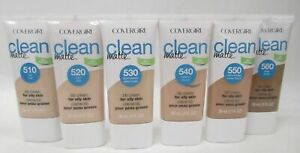 CoverGirl Clean Matte BB Cream CHOOSE YOUR SHADE Light Pale or Deep Fonce New