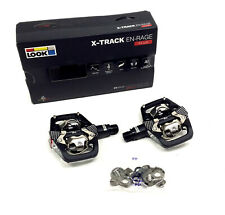 Look X-Track En-Rage + PLUS Mountain Bike Pedals and Cleats SPD Compatible Black