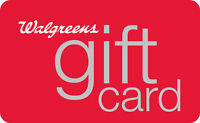 $10 / $25 / $50 / $100 Walgreens Gift Card - Mail Delivery