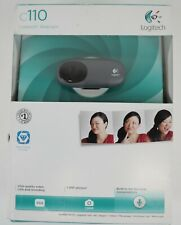 NEW Logitech C110 Web Cam 960-000748 1.3 MP 680 x 480 Pixels - Free Shipping