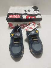 Disney Mickey Mouse Toddler Shoes 7 Gray New