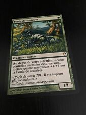 MTG MAGIC ZENDIKAR SCUTE MOB (FRENCH FOULE DE SCALAIRES) NM