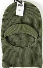 Vans Face Mask Visor beanie- NEW -robber style knit hat- NWT-OTW skate/snowboard