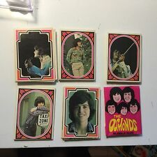 Osmonds cards rare complete card set 1970s