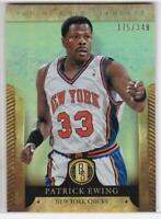 2012-13 Panini Gold Standard #/349 Patrick Ewing New York Knicks Basketball Card