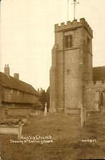 Ruislip Church Showing 16th Century House # 1825 by WHA.