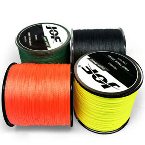 JOF 100M PE Braided Fishing Line 4 STRANDS Strong Multifilament Fishing Line OR