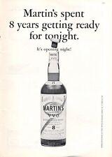 1965 Martin V.V.O. Scotch Whisky Vintage Bottle PRINT AD