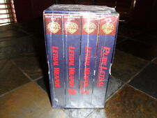Lethal Weapon 3-Pack (VHS, 1998, Director's Cut) BRAND NEW FACTORY SEALED