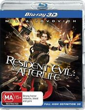 Resident Evil 3D DVDs & Blu-ray Discs