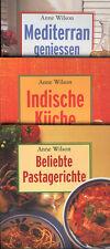 Anne Wilson Konvolut 12 Kochbücher Bellavista ua Rezepte Rezeptbuch Kochen Küche