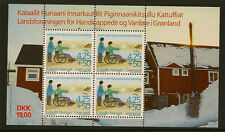 GREENLAND :1996 Handicapped & Disabled Miniature Sheet SG MS305 unm mint