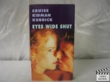Eyes Wide Shut Vhs Tom Cruise, Nicole Kidman; Kubrick