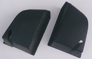 VOLVO 240 244 Rear Seat Belt Cover Set BLUE NEW! Reproduction 1294744 1294745