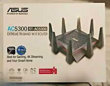 ASUS AC5300 Tri-band WiFi Gaming Router Gigabit speed, High Performance WIFI