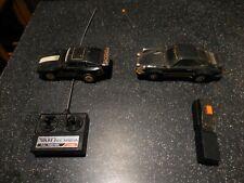 1980s RC/ LOT OF ((2))  NIKKO PORSCHE 944 & SENTRA CORP 930 REMOTE CONTROL CARS