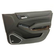 Front RH Passenger Door Panel 15-16 Chevrolet Tahoe Suburban JET BLACK 22903196
