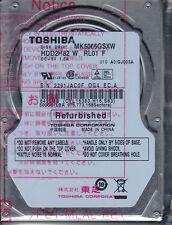 TOSHIBA mk5065gsxw hdd2h82 con RL01 F 500GB SATA a8-35