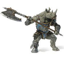 Papo 38946 Rhino Man Mutant Warrior Fantasy Model Gamer Role Play Figure - Nip