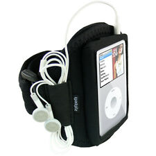 Noir Brassard Sport pour Apple iPod Classic 80gb 120gb 160gb Armband Jogging Gym