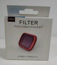 PGYTECH OSMO POCKET Gimbal NEW Diving Set MAGENTA/SNORKEL/RED Lens Filter for DJ
