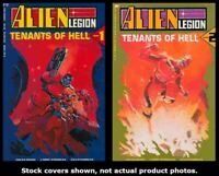 Alien Legion: Tenants of Hell 1 2 Epic  Complete Set Run Lot 1-2 VF/NM