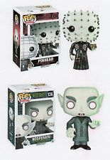 "Funko Movie NOSFERATU VAMPIRE & HELLRAISER PINHEAD 3.75"" POP Figure SET"