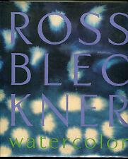 Ross Bleckner : Watercolor (1998, hb,1st ed,dj)