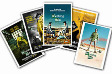 Breaking Bad - Set of 5 - A4 Plakat Drucke #1