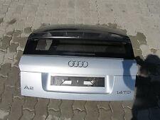 Heckklappe Audi A2 8Z 1.4TDI Modell 2001 Lacknr.: LY7W LichtSilber
