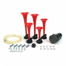 The Roach Coach 5 Trumpet La Cucaracha Air Horn Kit with Compressor  TRGH165