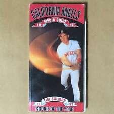 ANAHEIM ANGELS MLB BASEBALL MEDIA GUIDE 1994 EX+