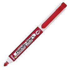 Pentel Handy-line S Whiteboard Marker, Red (Pentel MWX5SB) - 1 Each